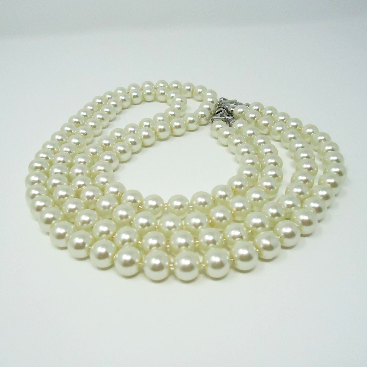 pearls tradesy necklace cream i colored real